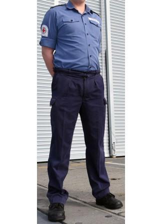 Брюки негорючие, Англия, синие, стандартное б/у
