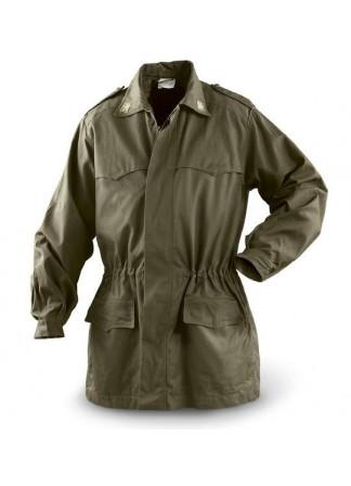 Куртка Италия, олива, как новая