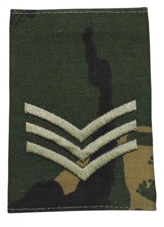 Погоны, Англия, сержант / Sergeant, DPM, новые