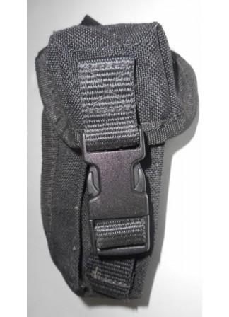 Подсумок  2 х glock 17 patroonmagazijn, Голландия, чёрный, б/у