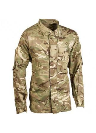 Рубашка-китель, Англия, MTP, Jacket , combat temperate weather mtp, минимальное б/у
